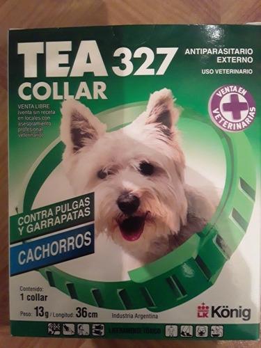 Collar Antipulgas Y Garrapatas Tea 327 Para Cachorros