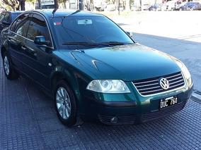 Volkswagen Passat Año 2001 1.8t Color Verde Nafta