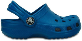Zapato Crocs Infantil Classic K Ocean Azul