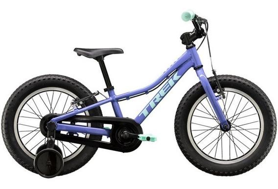 Bicicleta Trek Niña Precaliber Rodado 16 Lila