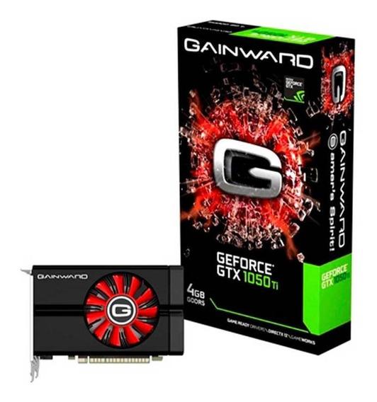 Placa De Vídeo Gainward Geforce Nvidia Gtx 1050 Ti 4gb Ddr5