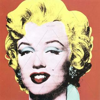 Lienzo Arte Marilyn Monroe -i03 Pop Art Andy Warhol 80x80cm