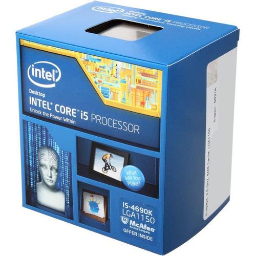 Imagem 1 de 2 de Processador Intel Corei5 4690k 3.50ghz Lga 1150 Box - 4a Gen