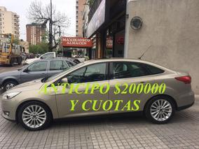 Ford Focus Iii Titanium 2.0 Aut 2015 Antic $200000 Y Cuotas!
