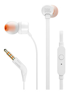 Audifonos Jbl T110 Corder-in-ear Blanco