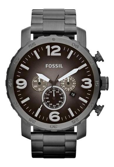Relógio Fossil Masculino Nate - Jr1437/4pn