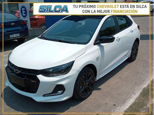 Chevrolet Onix Rs 2022 Blanco 0km