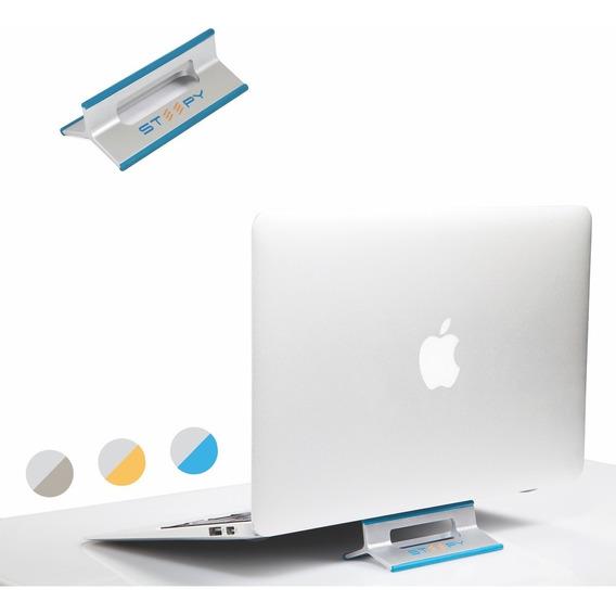 Base Soporte Steepy Para Laptop Tablet Y Celular - Azul