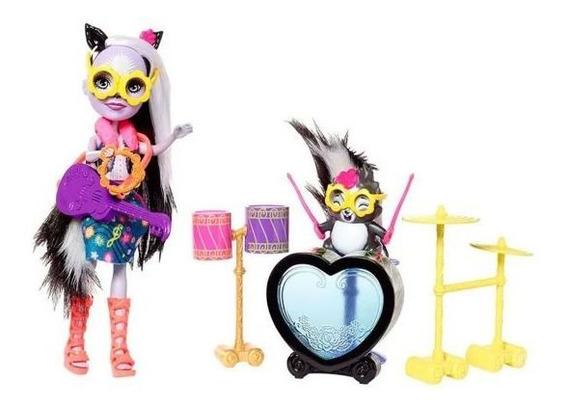 Boneca Enchantimals Conjunto Histórias Mattel - Rock