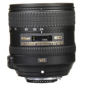 Lente Nikon Af-s Nikkor 24-85mm F/3.5-4.5g Ed Vr Sem Juros