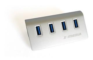 X-media Hub Usb 3.0 Concentrador 4 Puertos 3.0 Xm-ub3004a +