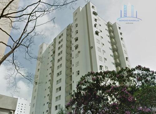 Imagem 1 de 25 de Apartamento Com 1 Dormitório À Venda, 50 M² Por R$ 450.000,00 - Campo Belo - São Paulo/sp - Ap2086