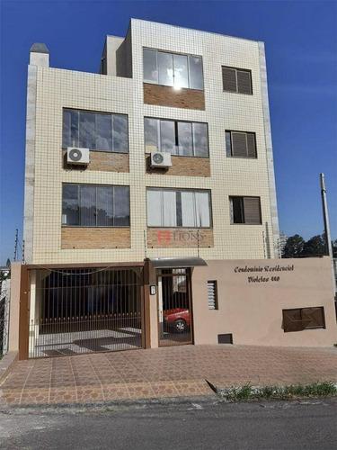 Apartamento Com 2 Dormitórios À Venda, 120 M² Por R$ 280.000 - Centro - Gravataí/rs - Ap0609