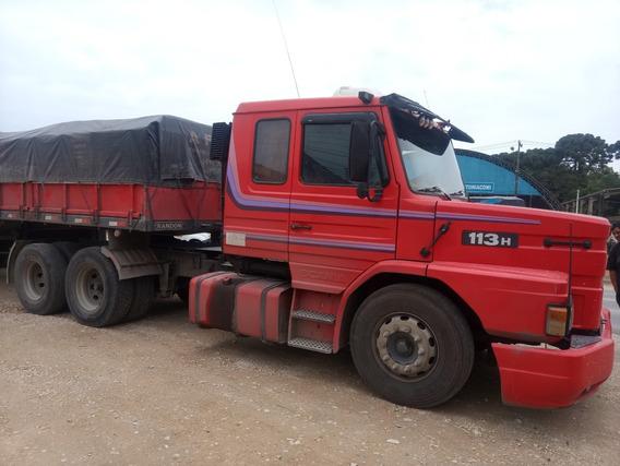 Scania 113 360,ano:98,vermelho,trucado 6x2,ótimo Estado.