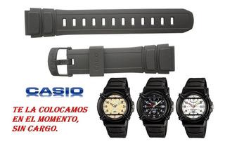 Malla Correa Para Reloj Casio Hda 600 Caballito Colocación
