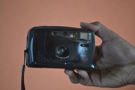 Câmera Antiga Royal 600 Display Lcd Funciona Falta Filme