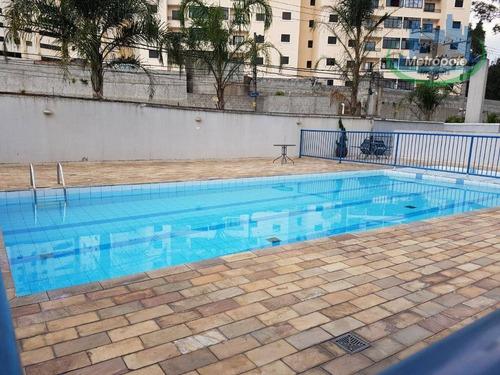Apartamento À Venda, 75 M² Por R$ 290.000,00 - Macedo - Guarulhos/sp - Ap1131