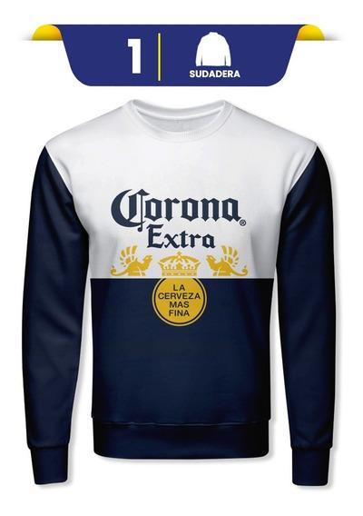 Sudadera Cerveza Corona 100% Original Corte Moderno
