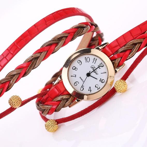 Relógio Feminino Lindo Na Caixa Barato Promoção + Brinde