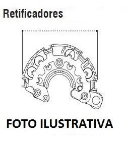 Ponte Retificadora P/ C/motor Zetec 1.8i 16v - Escort