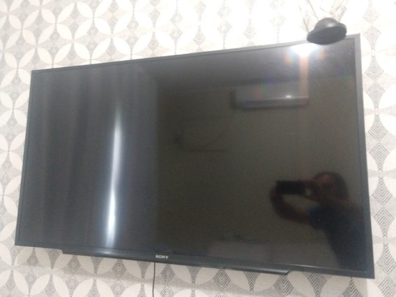 Tv Smart Sony 48 Polegadas, Modelo Kdl-48w655d Tela Trincada
