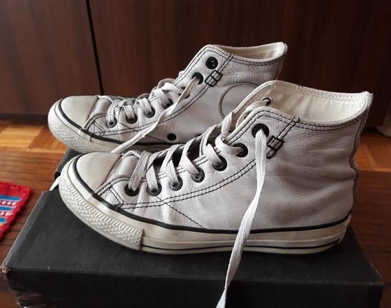 Zapatillas Converse All Star Chuck Taylor Botitas Cuero