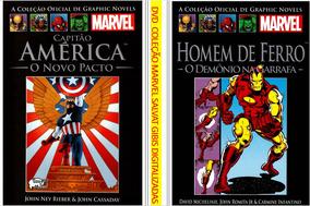 5 Dvds - Coleção Marvel Salvat Classicos 80 Revistas Digital