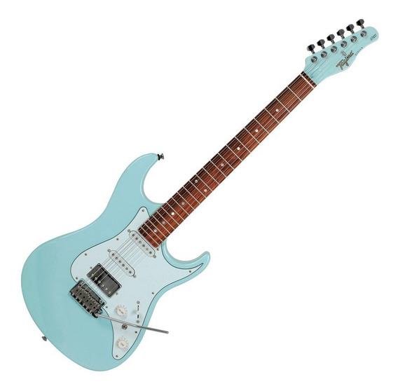 Guitarra Stratocaster Tagima Stella Hss Azul Escala Escura