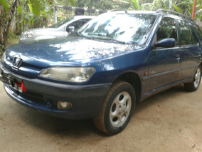 Peugeot 306 1.8 16v Perua 98/99 Com Detalhes *leia*