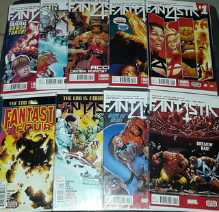 Marvel - Fantastic Four 5th Serie (1 Al 18) Completo