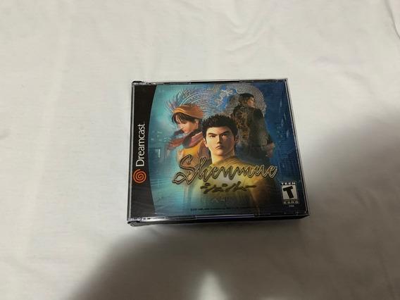 Shenmue Dreamcast Original Completo Americano