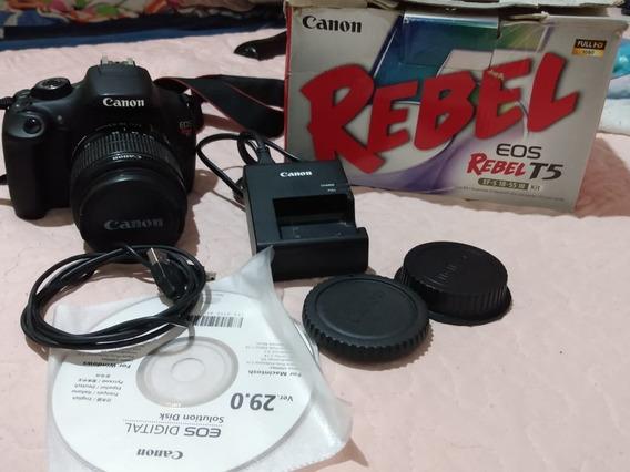 Câmera Canon T5 Profissional
