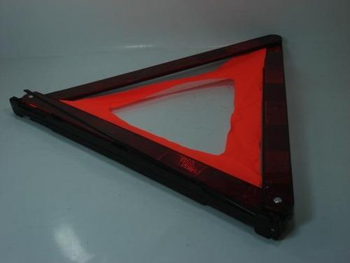 Imagen 1 de 5 de Triangulo Reflectivo Patas Metalicas Estuche Ind