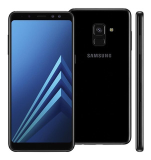 Samsung Galaxy A8 Dual Android 9 64gb - Preto C/ Nota Fiscal