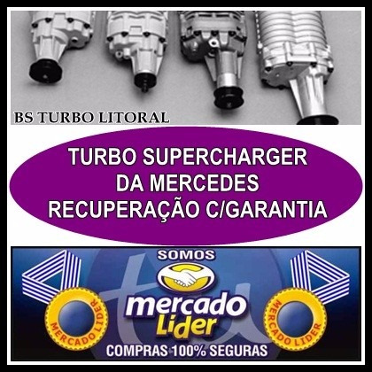 Kit Supercharger M62 - Acessórios para Veículos no Mercado