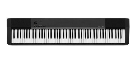 Piano Digital Portátil Casio Cdp-135bk Midi 88 Teclas E Po
