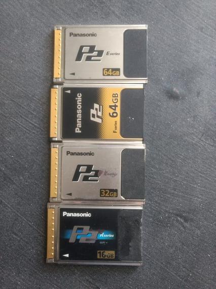 Cartão P2 Panasonic 32gb
