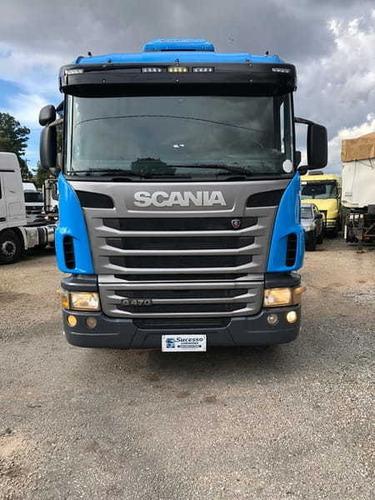 Scania G 470 6x4 Traçado
