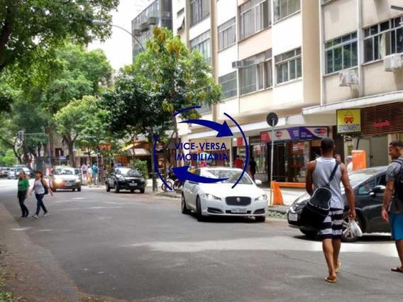 Apartamento À Venda Em Copacabana - 50m², Quarto E Sala, Dependências Empregada! - 1254
