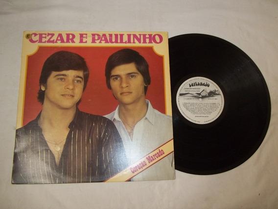Vinil Lp Cezar E Paulinho - Coração Marcado - Casaco De Pele