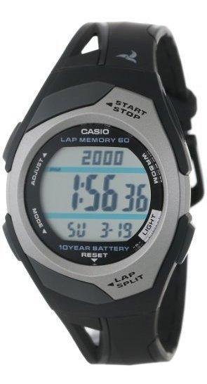 Casio Str300 - Reloj Deportivo Para Correr (60 Vueltas)