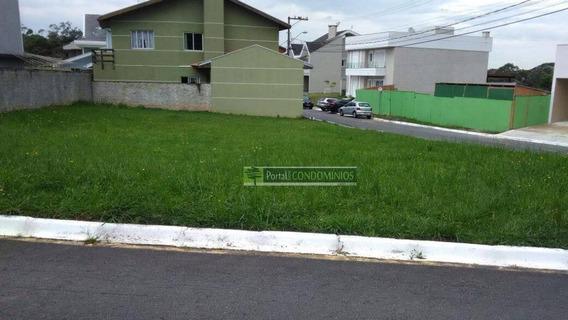 Terreno À Venda, 373 M² Por R$ 220.000,00 - Santa Cândida - Curitiba/pr - Te0519