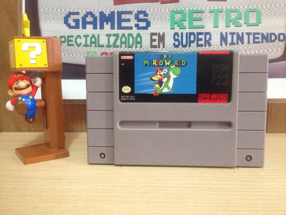 Super. Mario World Original Do Super Nintendo