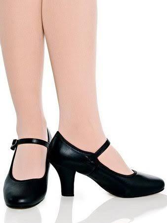 Sapato Capezio Dança De Salão Modelo Boneca Ref 40