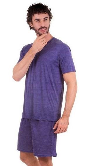 10 Pijama Curto Masculino Manga Curta Short Adulto Atacado