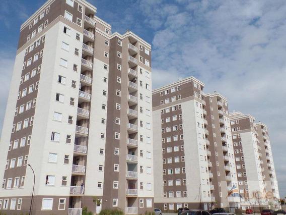 Apartamento No Residencial Jardim Botânico Com 2 Dormitórios À Venda, 58 M² Por R$ 247.000 - Jardim Adelaide - Hortolândia/sp - Ap6649
