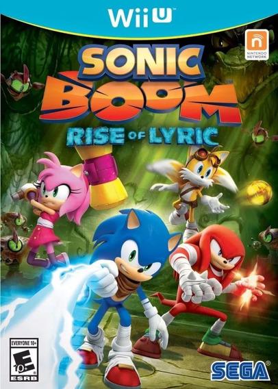 Sonic Boom: Rise Of Lyric - Digital Wii U