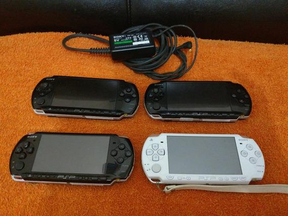 Psp 3000 Sony 16gb Desblq Permanente + Jogos Valor Unitário