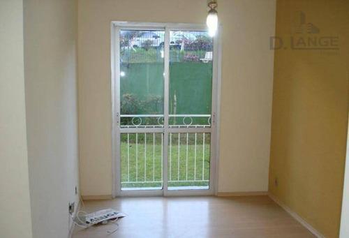 Imagem 1 de 14 de Apartamento À Venda, 70 M² Por R$ 290.000,00 - Jardim Das Oliveiras - Campinas/sp - Ap14652