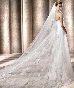 Vestido De Novia Pronovias Modelo Bergamo Talla 6